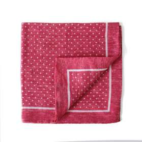 Pocket Square - Toi, Toi Mon Poix - Red