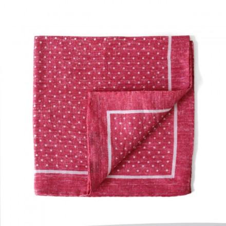 Pocket Square - Toi, Toi Mon Poix - Pink
