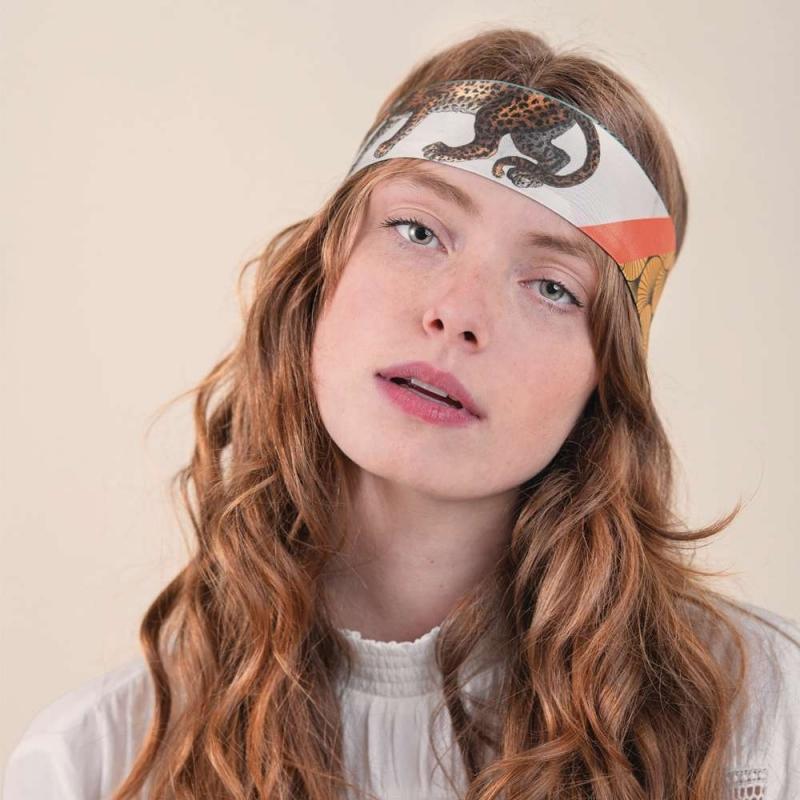 Silk Headband - The Magpie