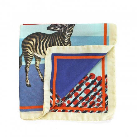 Pocket Square - The Zebrawriter