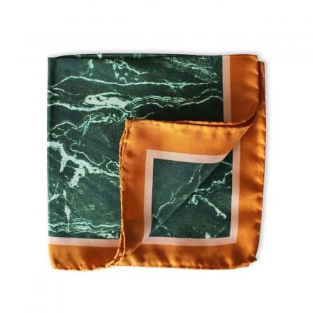 Pochette Costume - Green Marble