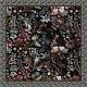 Silk Scarf - The Nightowl 50x50cm