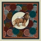 Silk Scarf - This is my Lion 50x50cm