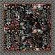 Silk Scarf - The Nightowl 100x100cm