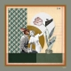 Foulard en Soie - Amants 100x100cm