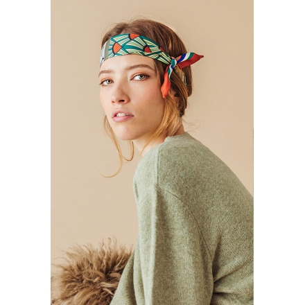 Silk Headband - The Photographer