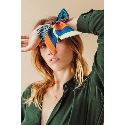 Foulard Bandeau Soie - This is my Lion