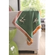 Silk Scarf - Tug of War 50x50cm