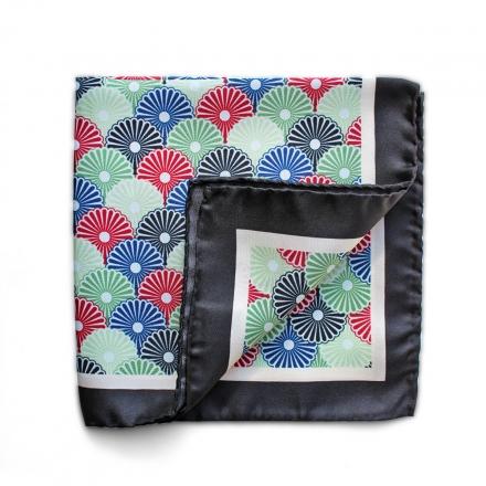 Pocket Square silk Lotus