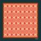 Pocket Square - Red Lantern