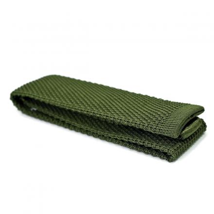 Cotton Knitted Tie - Humphrey Beaugosse