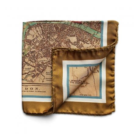 Pocket Square - London Town