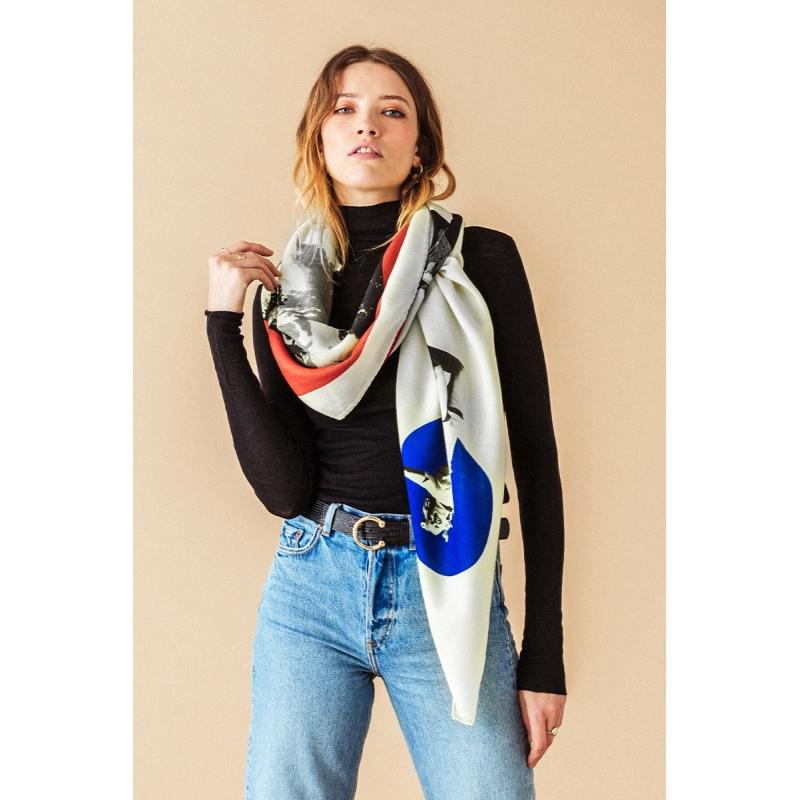 Wool Scarf - Kite
