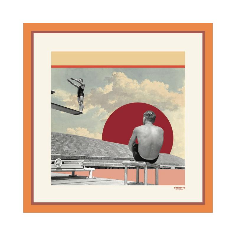 Foulard en Soie - Chlore 50x50 cm