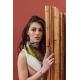 Silk Scarf - Backgammon 100x100cm