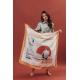 Silk Scarf - Chlore 100x100cm