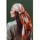 Foulard en Soie - Dune 100x100 cm