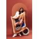 Foulard en Soie - Plongeoir 100x100 cm