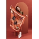 Silk Scarf - Cacaotes 100x100cm