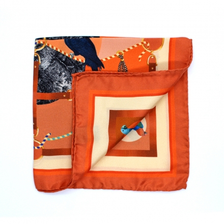 Pocket Square - Cacaotes