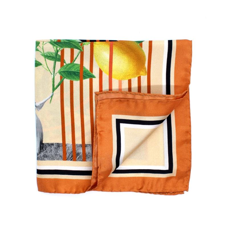 Pocket Square - Agrumes