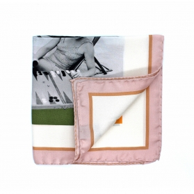 Pocket Square - Backgammon