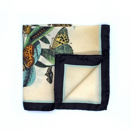 Pochette Costume - Bouquet de Papillons