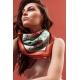 Silk Scarf - Gorgone - Ciel 70x70 cm