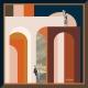 Silk Scarf - Les Égarés 50x50 cm