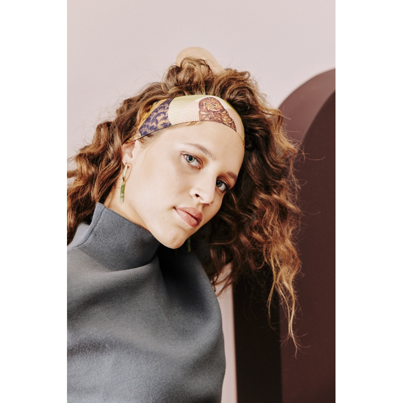 Silk Headband - La Chevêche d'Athéna