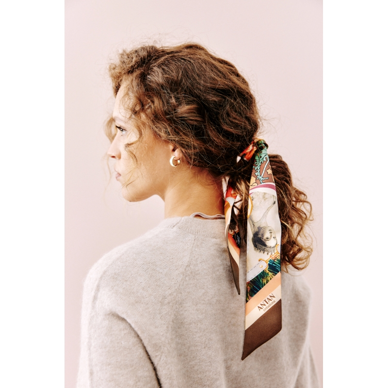 Silk Headband - Sa Majesté