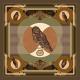 Wool Scarf - La Chevêche d'Athéna 140x140cm