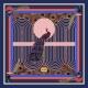 Foulard en Laine - Le Paon Rouge 140x140cm