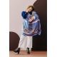 Silk Scarf - Le Paon Rouge100x100cm