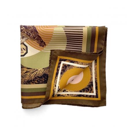 Pocket Square - La Chevêche d'Athéna