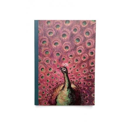 Carnet A5 - Le Paon Rouge
