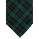 Cravate Coton Tartan Made in France