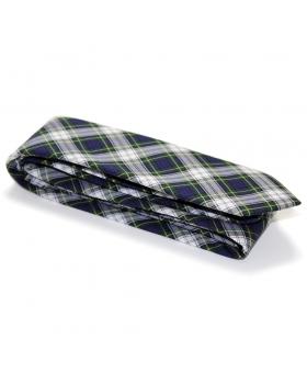 cravate tartan vert