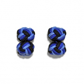 Passementeries - Bleu & Noir