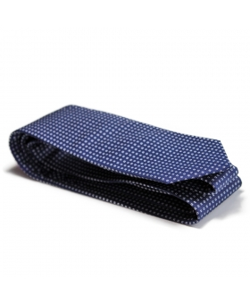 Handmade Blue Cotton Tie