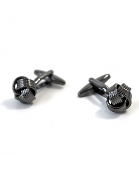 Cufflinks - Black Knot