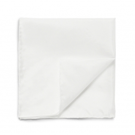 Pocket Square White Trash (Cotton)