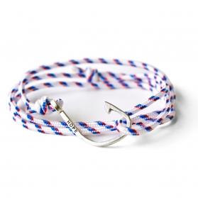 Bracelet Hameçon - Tricolore