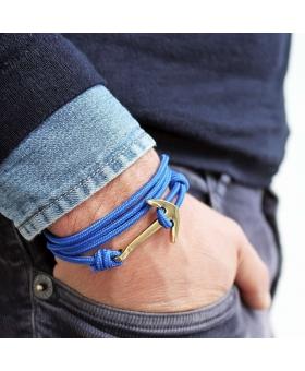 Bracelet Ancre - Bleu