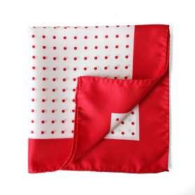 Pochette de Costume Trois, Dot, Un - Rouge