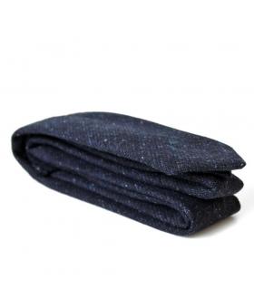 cravate bleue