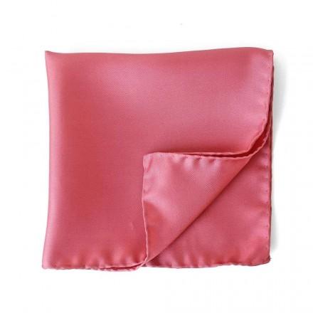 pochette costume rose