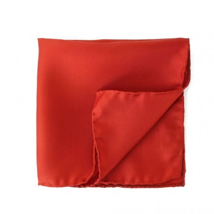 pochette de costume rouge