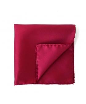 pocket square burgundy