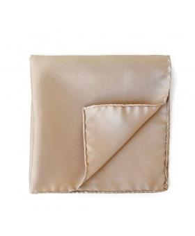pocket square beige